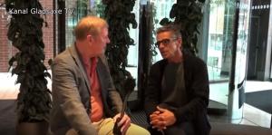 Kim Fritz møder Michal Falch på Gladsaxedagen